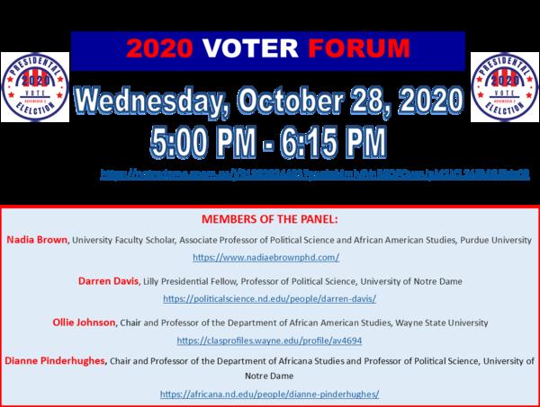 10 28 20 Afst 2020 Voter Forum